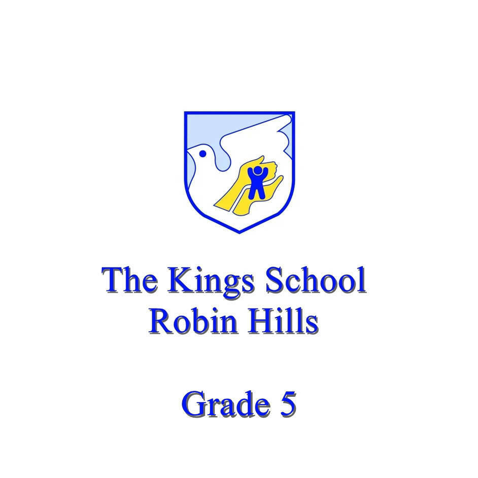 The King's School Grade 5
