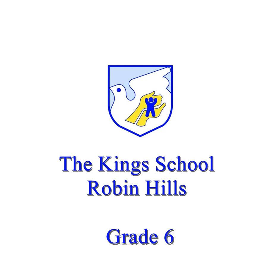 The King's School Grade 6