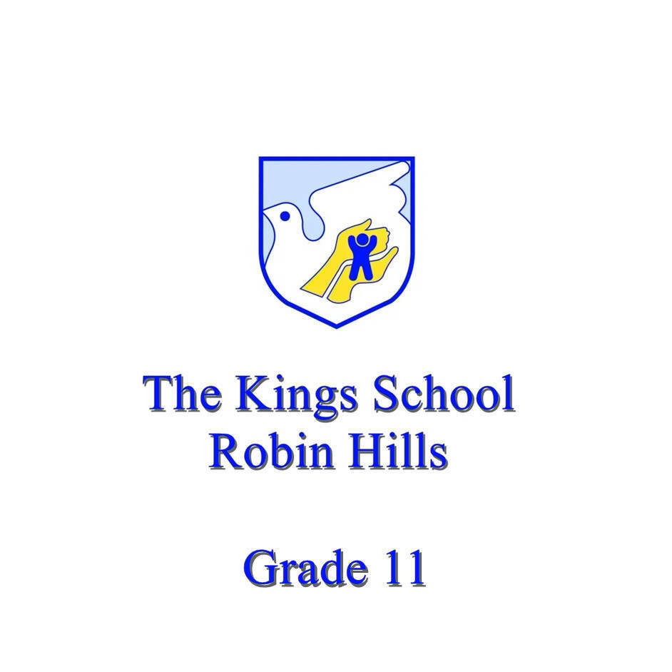 The Kings School Grade 11