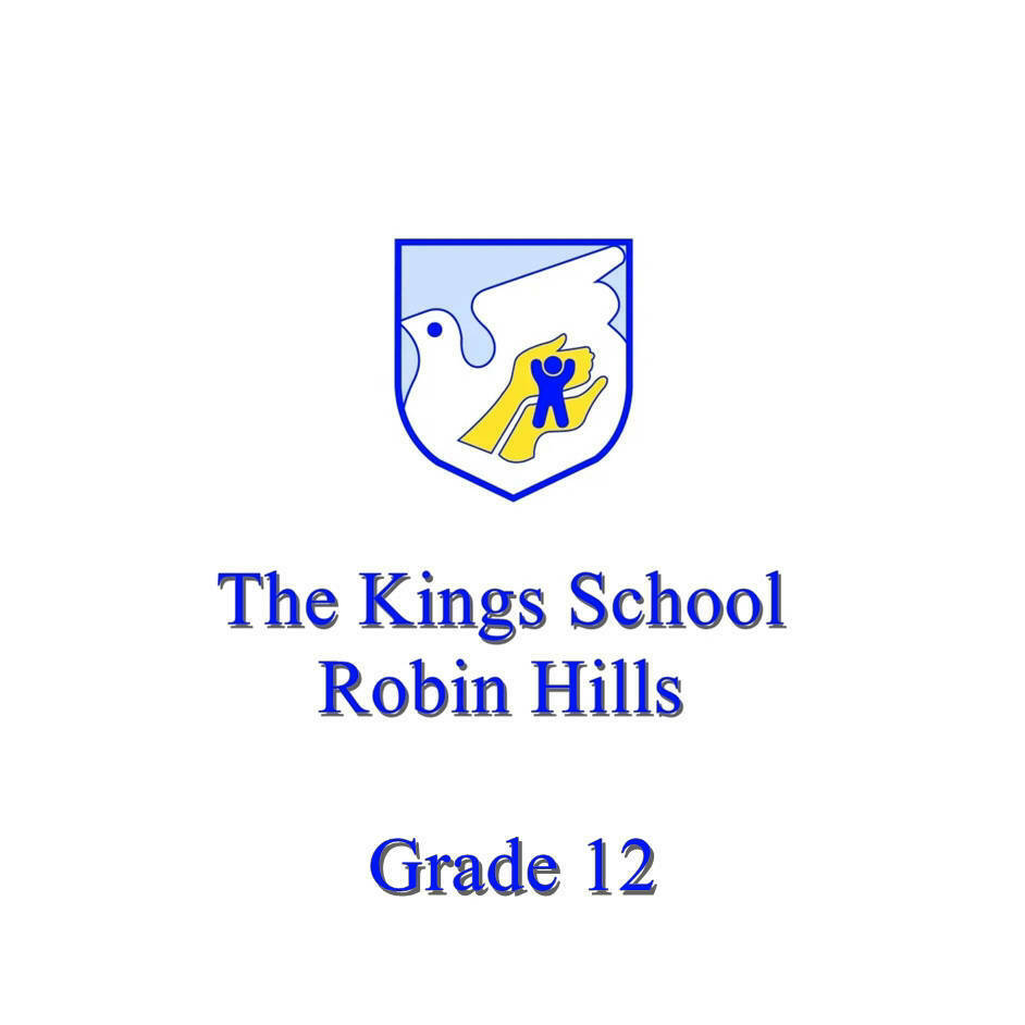 The Kings School Grade 12