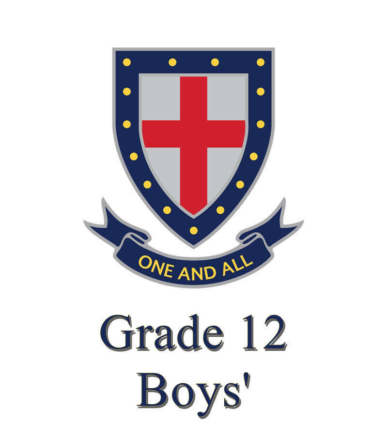 St Stithians Boys' Grade 12