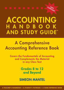 Picture of Accounting Handbook and Study Guide