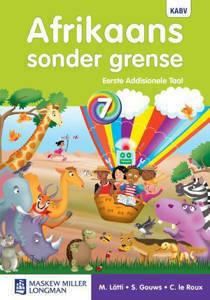 Picture of Afrikaans Sonder Grense (Eerste Addisionele Taal) Graad7 Leerderboek NKABV