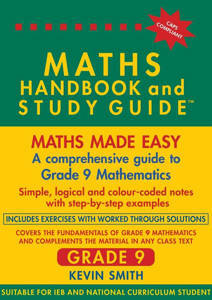 Picture of Maths Handbook and Study Guide Grade 9