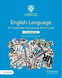 Picture of Cambridge International AS and A Level English Language Coursebook Second Edition - Mike Gould & Marilyn Rankin