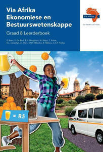Picture of Via Afrika Ekonomiese en Bestuurswetenskappe Graad 8 Leerderboek (KABV)