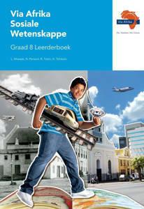 Picture of Via Afrika Sosiale Wetenskappe Graad 8 Leerderboek (KABV)