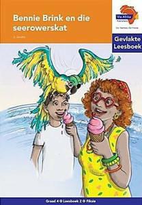 Picture of Bennie Brink en die seerowerskat - Gevlakte Leesboek 2: Graad 4