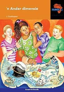 Picture of Via Afrika Afrikaans Eerste Addisionele Taal Graad 9 Novelle: 'n Ander dimensie (KABV)