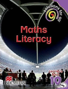 Picture of Solutions For All Mathematical Literacy Grade 10 Learner's Book (CAPS)
