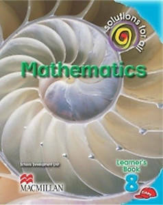 Picture of Solutions For All Mathematics Grade 8 Learner's Book (CAPS)