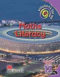 Picture of Solutions For All Mathematical Literacy Grade 12 Learner's Book (CAPS)