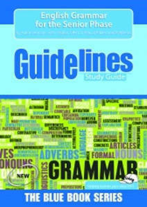 Picture of Guidelines - English Grammar Snr Phase
