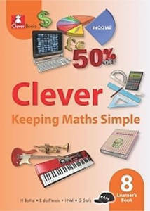 Picture of Clever Keeping Mathematics Simple Grade 8 Learner's Book