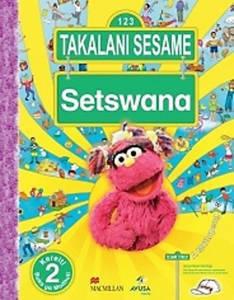 Picture of Takalane Sesame Setswana Kereiti 2 Buka ya Moithuti