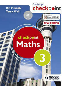 Picture of Cambridge Checkpoint Maths Student's Book 3 -  C. T. C. Wall & Ric Pimentel