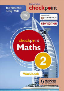 Picture of Cambridge Checkpoint Maths Workbook 2 -  C. T. C. Wall & Ric Pimentel