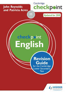 Picture of Cambridge Checkpoint English Revision Guide for the Cambridge Secondary 1 Test - John Reynolds & Patricia Acres
