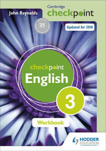 Picture of Cambridge Checkpoint English Workbook 3 - John Reynolds (Hodder)