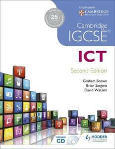 Picture of Cambridge IGCSE ICT 2nd Edition