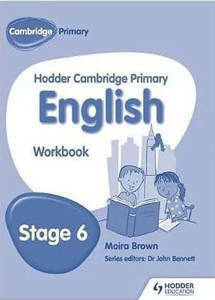 Picture of Hodder Cambridge Primary English Workbook Stage 6