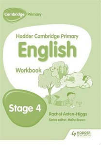 Picture of Hodder Cambridge Primary English Workbook Stage 4