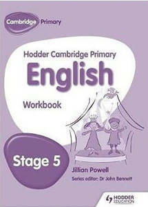 Picture of Hodder Cambridge Primary English Workbook Stage 5