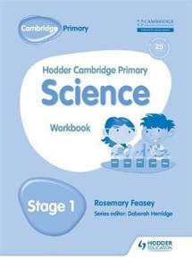 Picture of Hodder Cambridge Primary Science Workbook Stage 1