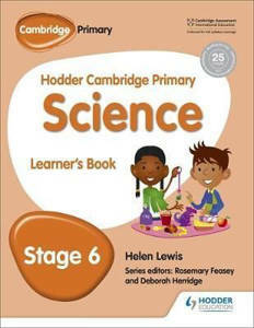 Picture of Hodder Cambridge Primary Science Learner's Book Stage 6