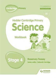Picture of Hodder Cambridge Primary Science Workbook Stage 4