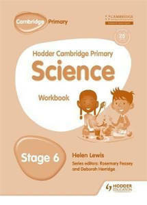 Picture of Hodder Cambridge Primary Science Workbook Stage 6