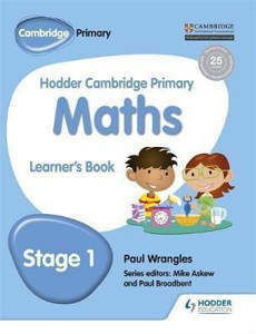 Picture of Hodder Cambridge Primary Mathematics Learner's Book Stage 1