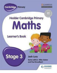 Picture of Hodder Cambridge Primary Mathematics Learner's Book Stage 3