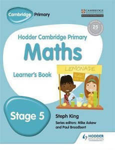 Picture of Hodder Cambridge Primary Mathematics Learner's Book Stage 5