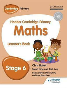 Picture of Hodder Cambridge Primary Mathematics Learner's Book Stage 6
