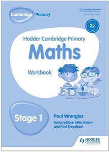 Picture of Hodder Cambridge Primary Mathematics Workbook Stage 1