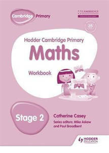 Picture of Hodder Cambridge Primary Mathematics Workbook Stage 2