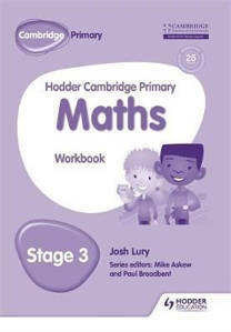 Picture of Hodder Cambridge Primary Mathematics Workbook Stage 3