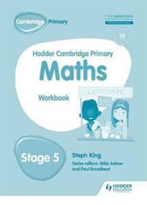 Picture of Hodder Cambridge Primary Mathematics Workbook Stage 5