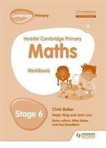 Picture of Hodder Cambridge Primary Mathematics Workbook Stage 6