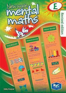 Picture of New Wave Mental Maths Workook E - Eddy Krajcar