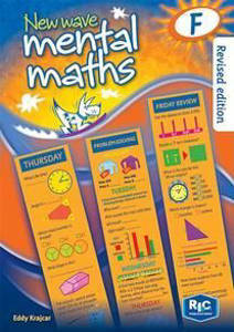 Picture of New Wave Mental Maths Workook F - Eddy Krajcar