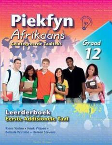 Picture of Piekfyn Afrikaans Leerderboek Graad 12 Eerste Addisionele Taal (KABV)