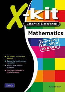 Picture of X-Kit Essential Reference: Mathematics (CAPS)