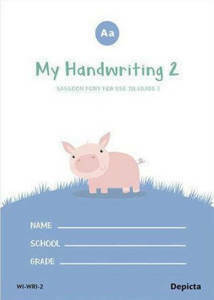 Picture of My Handwriting Book 2 Workbook - Depicta
