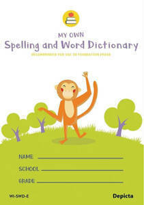 Picture of My Own Spelling and Word Dictionary - Depicta