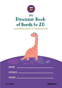 Picture of My Dinosaur Book of Bonds 1 to 20 - Depicta