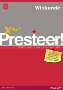 Picture of X-Kit Presteer! Wiskunde Graad 8 Studiegids (KABV)
