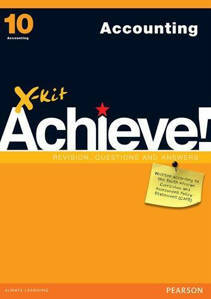Picture of X-Kit Achieve! Accounting Grade 10 Study Guide (CAPS)