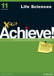 Picture of X-Kit Achieve! Life Sciences Grade 11 Study Guide (CAPS)